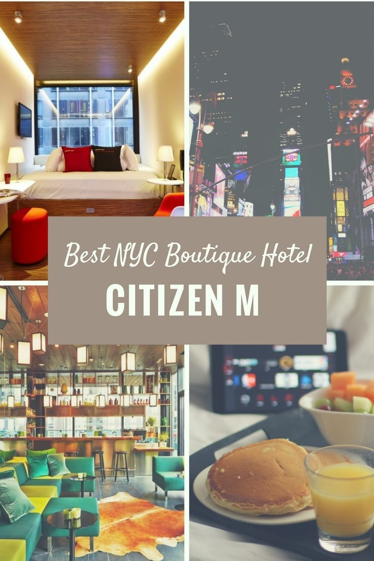 Best boutique hotels in new york city citizen m for Best boutique hotels 2017