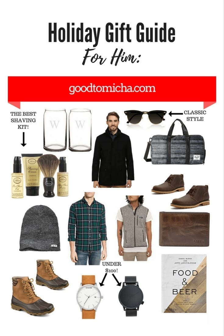 Gift Ideas For Men 2017 Holiday Gift Guide Goodtomicha