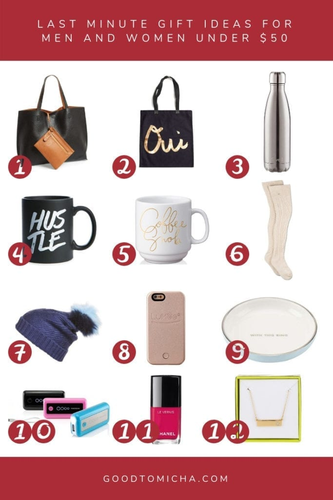 Holiday Gift Guide Easy Last Minute Gift Ideas Under 50