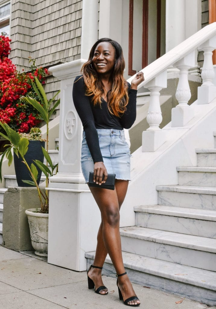 7527352d762 San Francisco Based Fashion Blogger Shares Her 3 Outfit Ideas Featuring The  New Closet Staple