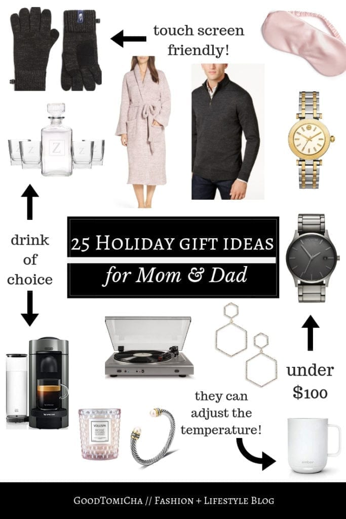 Gift Ideas For Mom Dad Pas