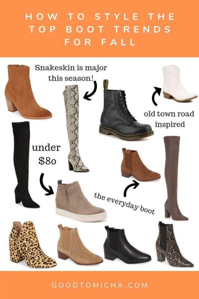 The Fall Boots Trends Taking Over Your